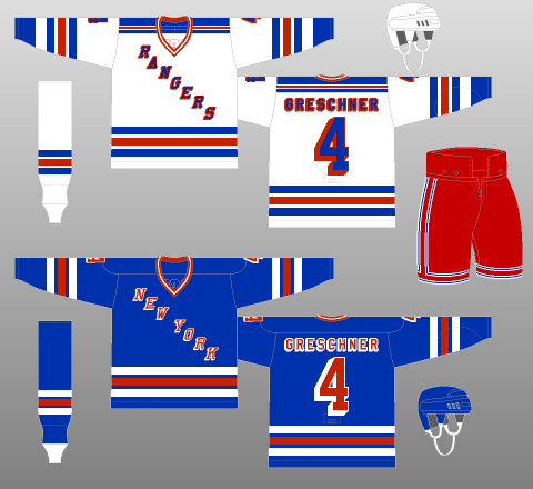 new product 3b2f9 d20e5 1985-86 New York Rangers